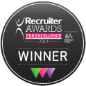 Recruiter Awards Winner